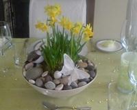 пасхальная композиция с камнями