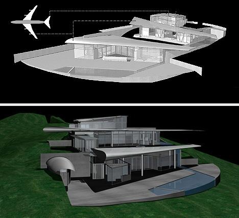 частный дом из Боинга 747