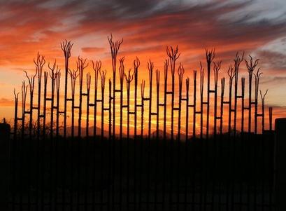 декоративный прозрачный забор