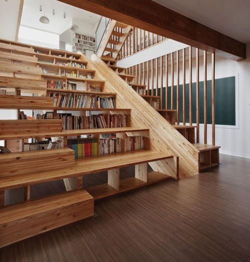 лестница со ступенями разной высоты