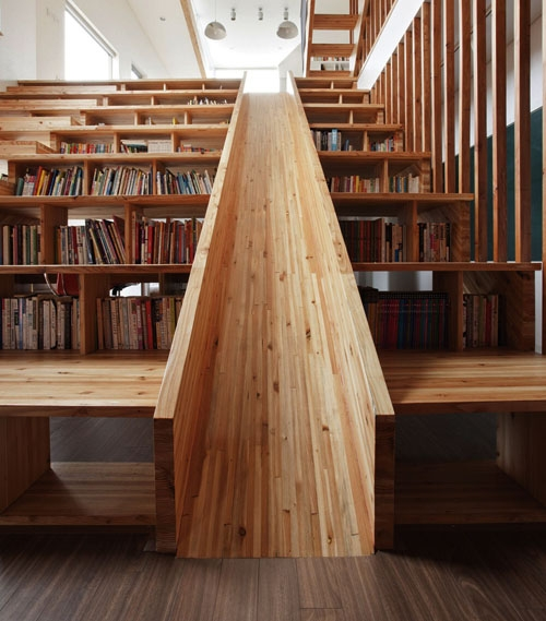 многофункциональный дизайн лестницы