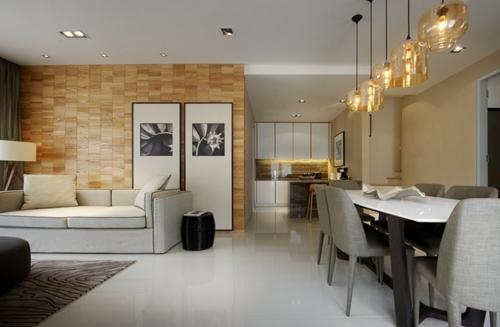 стильные принты в современной гостиной