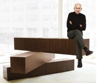 стильная минималистская мебельная стойка