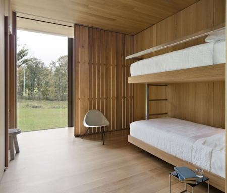 гостевая спальня в каркасном доме