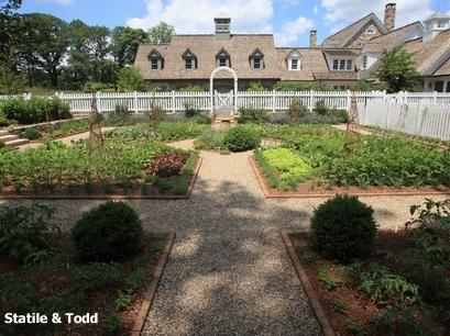 роскошный дизайн огородных грядок