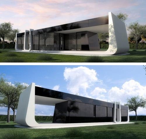 проект модульного дома LONG В