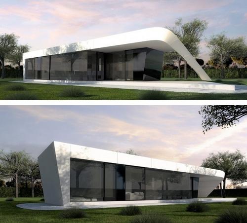 проект модульного дома LONG А
