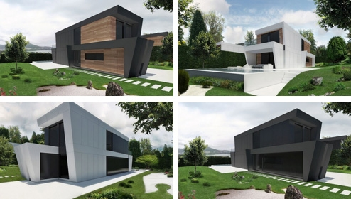 проект модульного дома DUO