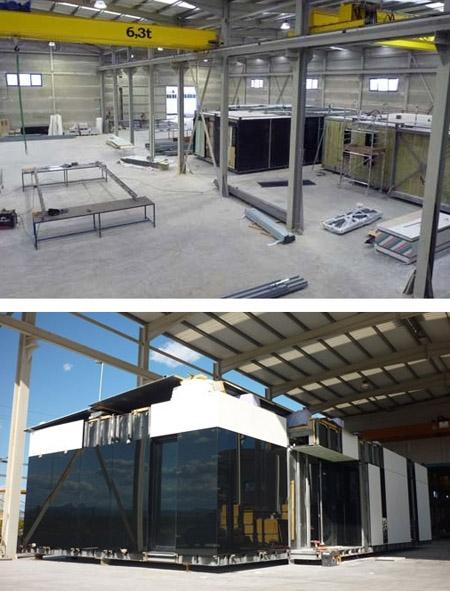производственные площади для производства модульных домов