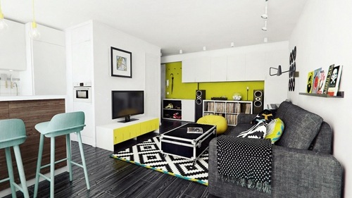 дизайн квартиры для молодого мужчины