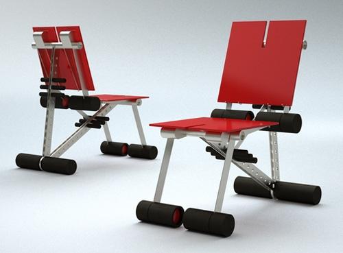 трансформируемая мебель с антипробуксовочной системой