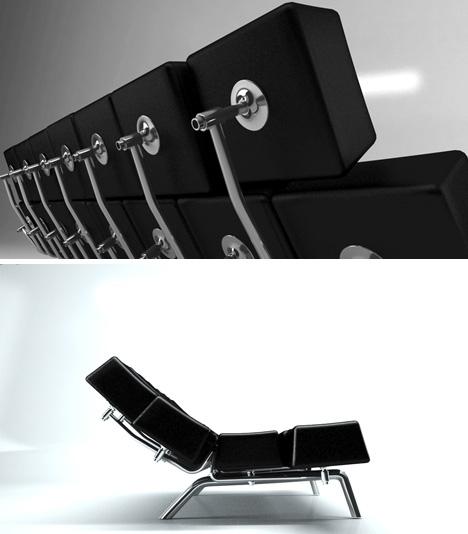 оригинальный диван-кровать с дистанционным управлением