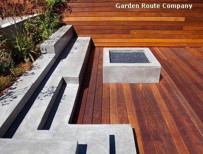 садовая лестница с интегрированной скамейкой