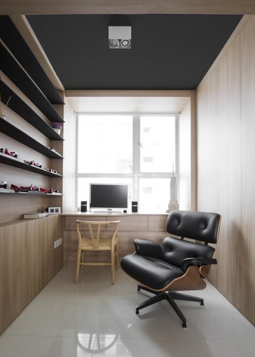 дизайн домашнего кабинета современного стиля