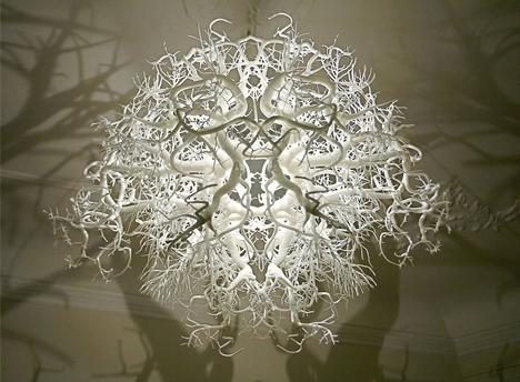 потолочный теневой светильник