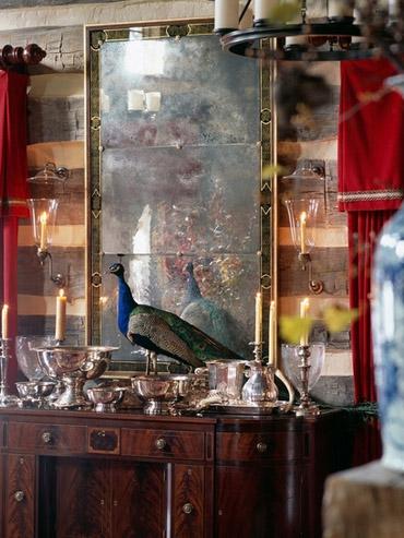 роскошный дизайн охотничьего домика в стиле 18 века