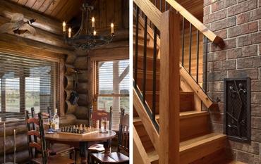 дизайн интерьера семейного охотничьего домика