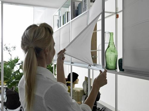 съемные текстильные дверки для кухонной мебели