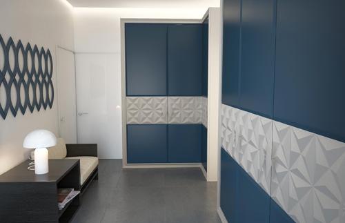 встроенные шкафы в холле