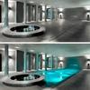 бассейн с подвижным полом