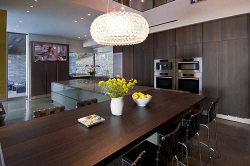 дизайн кухни столовой в современном стиле