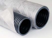 перфорированная дренажная труба в оболочке из геотекстиля