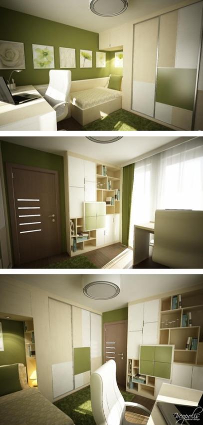 стильная комната для подростка