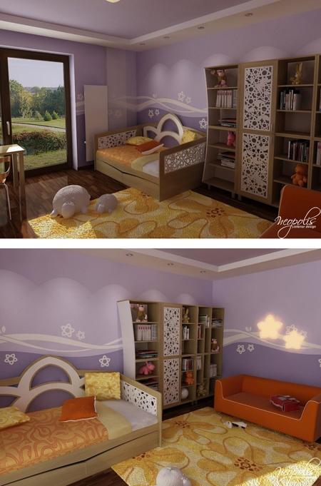 эксклюзивная мебель для детской комнаты