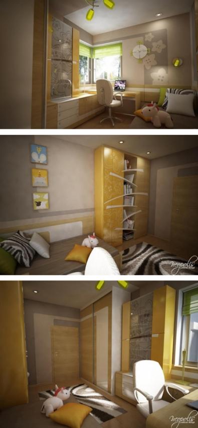 уникальная мебель для детской комнаты