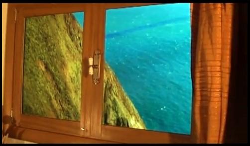 вид из виртуального окна снизу
