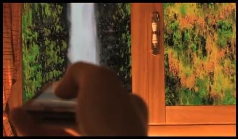 виртуальное окно на базе телевизора или монитора