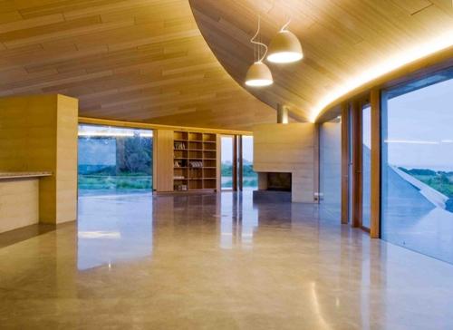 минималистичный интерьер частного дома