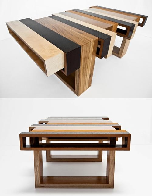 стол из отходов мебельного производства