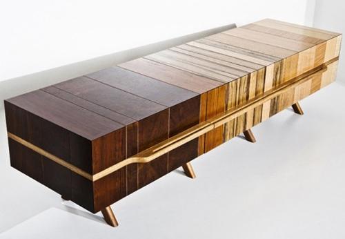 дизайнерская мебель из отходов