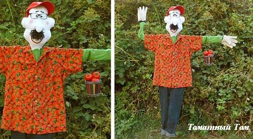 огородное пугало Томатный Том