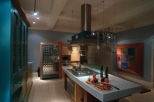 мебель для узкой кухни на заказ