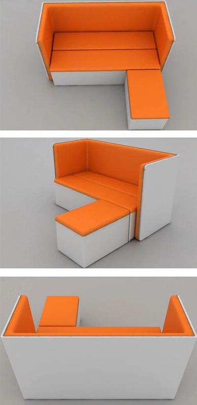 угловой диван для маленькой комнаты