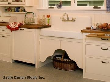 декоративные дверки под мойкой на кухне