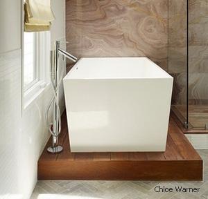 подиум под отдельно стоящую ванну