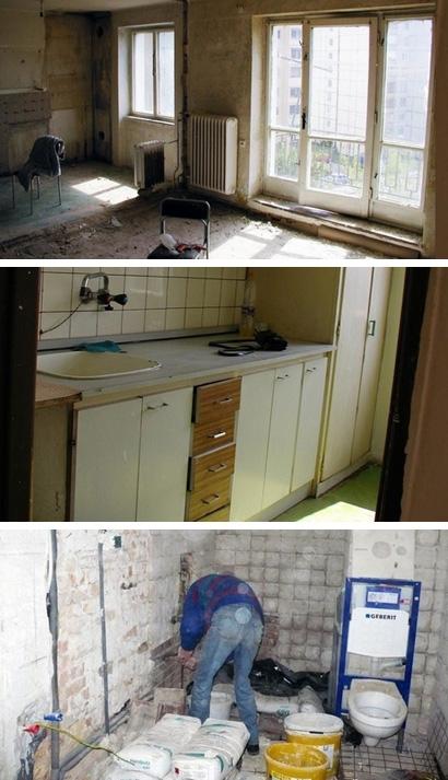 квартира в процессе ремонта
