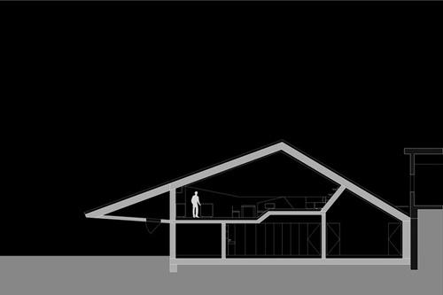 общий план современного частного дома