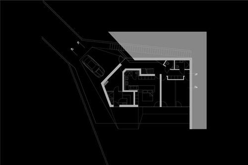 план нижнего уровня дома