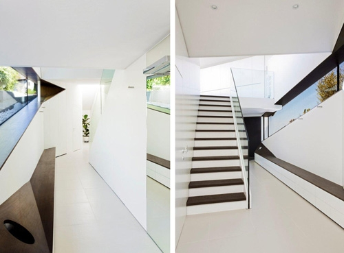 ультрасовременный дизайн коридора в частном доме
