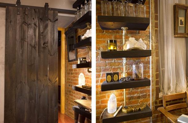элементы дизайна квартиры в стиле деревенского дома