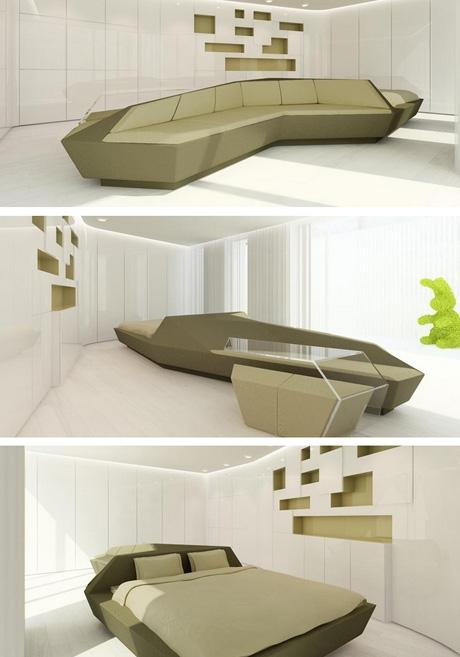 эксклюзивная мягкая мебель многофункционального назначения