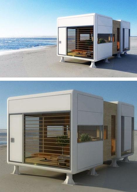 энергосберегающий компактный дачный дом