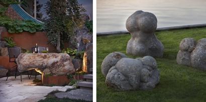 эффектное использование камня в ландшафтном дизайне