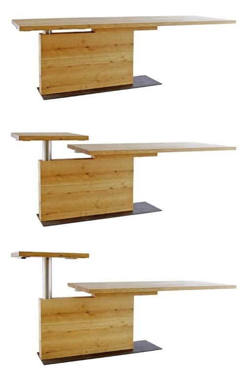 стол с меняющейся высотой столешницы