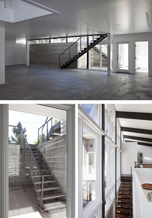 полуподвальный этаж частного дома