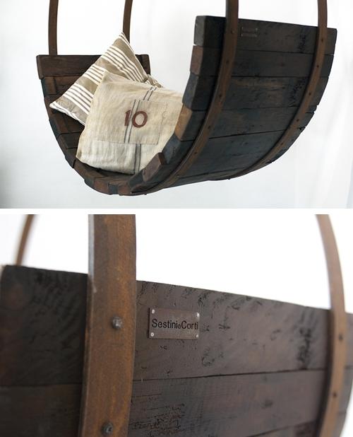 дизайнерская мебель из бочки